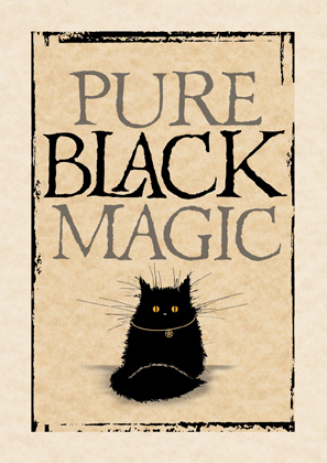 Pure black magic