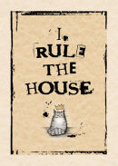 I rule the house (grey)