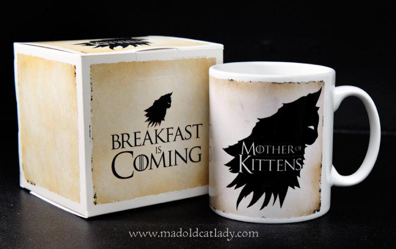 Mother of Kittens ceramic mug