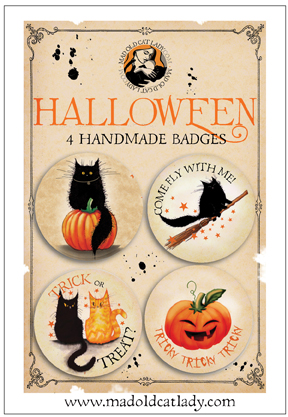 Halloween badge pack 1