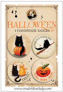 Halloween badge pack 1