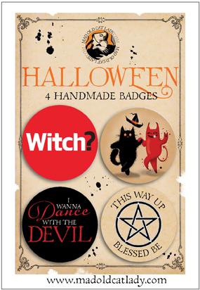 Halloween badge pack 2
