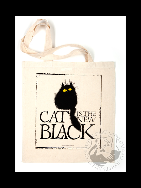 Cat is the new black Tote Bag