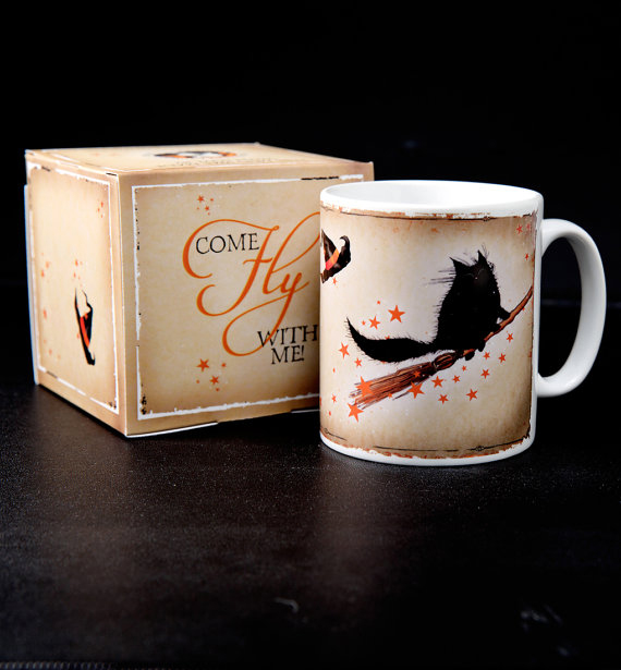 Come Fly With Me! Ceramic mug