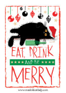 Eat, Drink and be Merry card