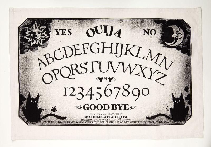 Ouija Board tea-towel