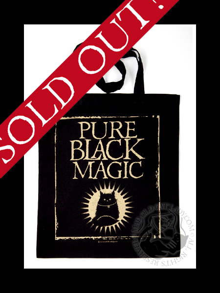 Pure Black Magic tote bag