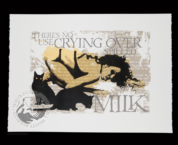 Spilled Milk (gold)
