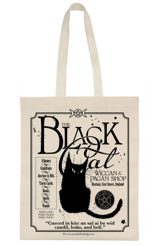 Black Cat Shop tote