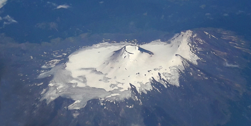 Another volcano from the air