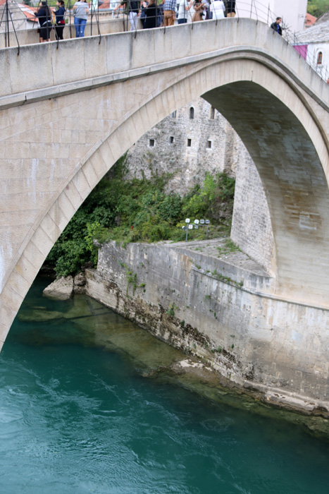 Famous Stari Most (Old Bridge), Mostar, Bosnia