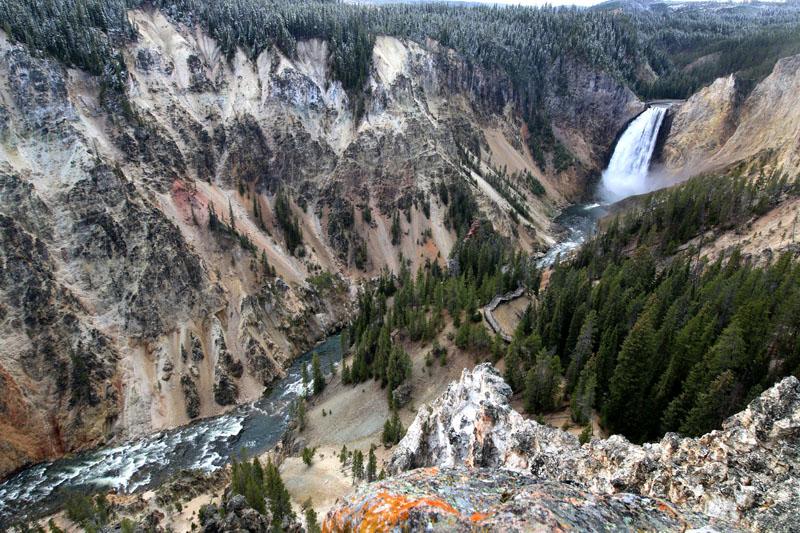 Lower Falls, Yellowstone National Park