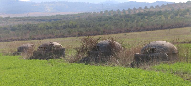 Anti-mine bunkers, Albania