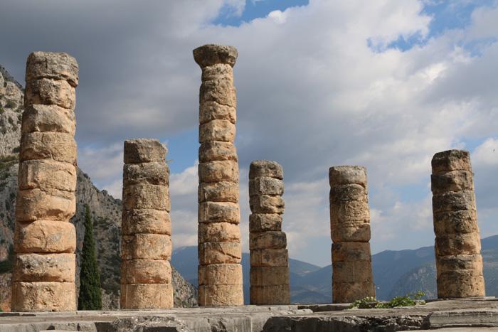Delphi, Ancient Greek ruins