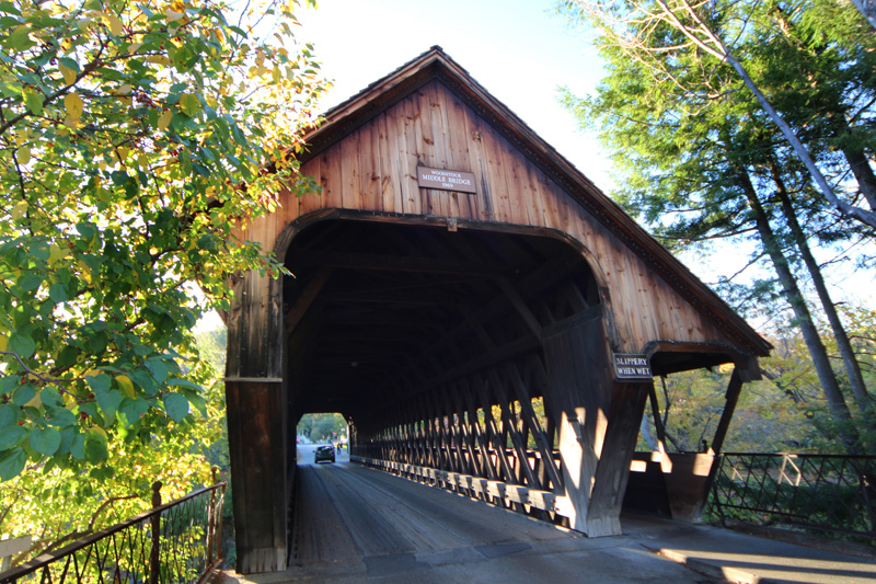 Covered Bridge near Stowe