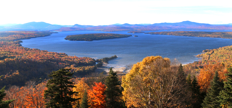 Rangeley Lakes, northern Maine