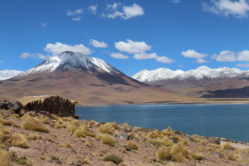 Lago Miscantes. Atacama