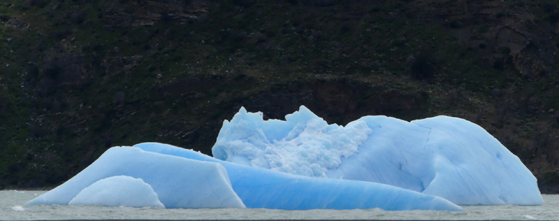 Blue Iceberg at Lago Grey