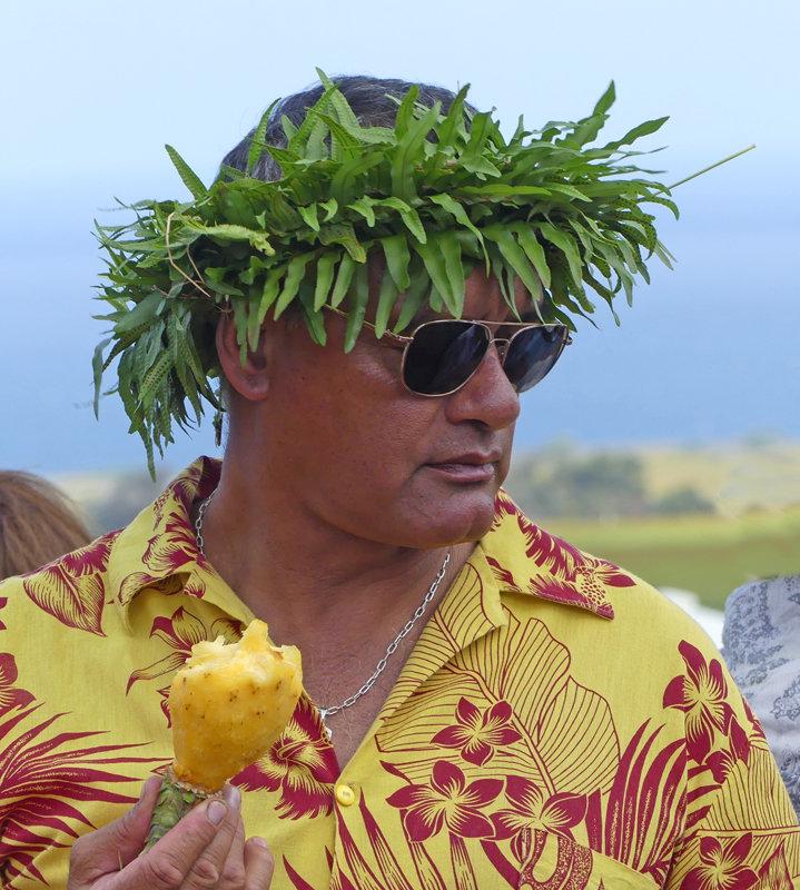 Colourful locals at Haka Pei