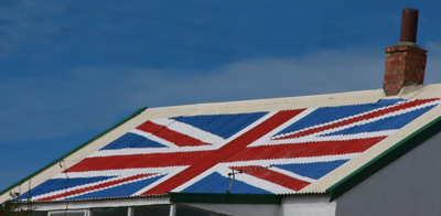Patriotic roof - Stanley