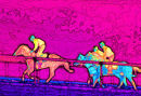 Psychedelic Crazy Horses