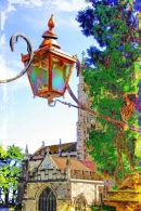 PRIORY LAMP