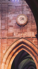 Clock, Worcester Cathedral