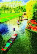 Summer punting on the Cam
