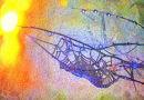 Morning dew cobweb