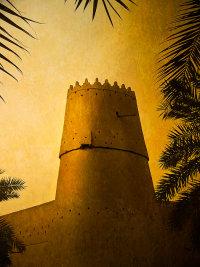 The SW tower of Fort ref Assault by Emir Abdul Aziz on Al-Massmak 1902