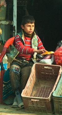 Young Street Vendor, Afghanistan