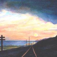 Braystones sunset