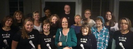 SING with A BIG VOICE Aug 2015 Recording Studio