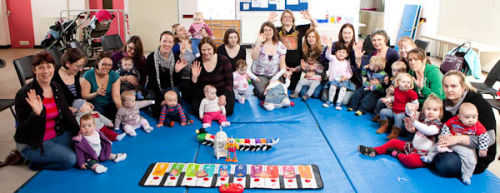 'TUNES for TODDLERS' (weekly music groups 0-5yrs)