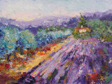 A lovely lavender day 2, oil painting