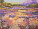Haut Alpes Plain, Impressionist Provence Landscape