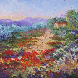 Meander through the poppy fields