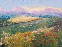 Impressionist Provence Landscape