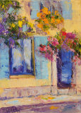 Yellow House Arles oil painting