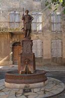 Fountain Alet-les Bains
