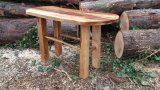 Beech and Laburnum table