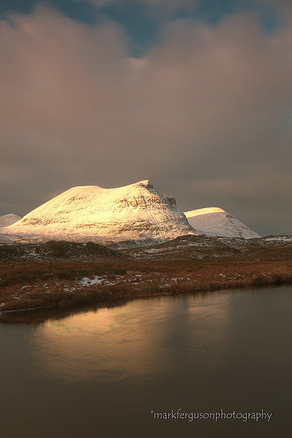 Quinag winter sunrise