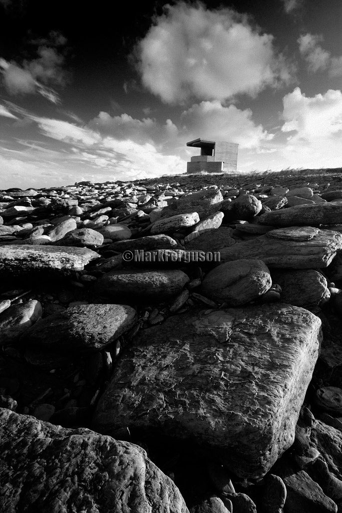 Rerwick's rocky shore