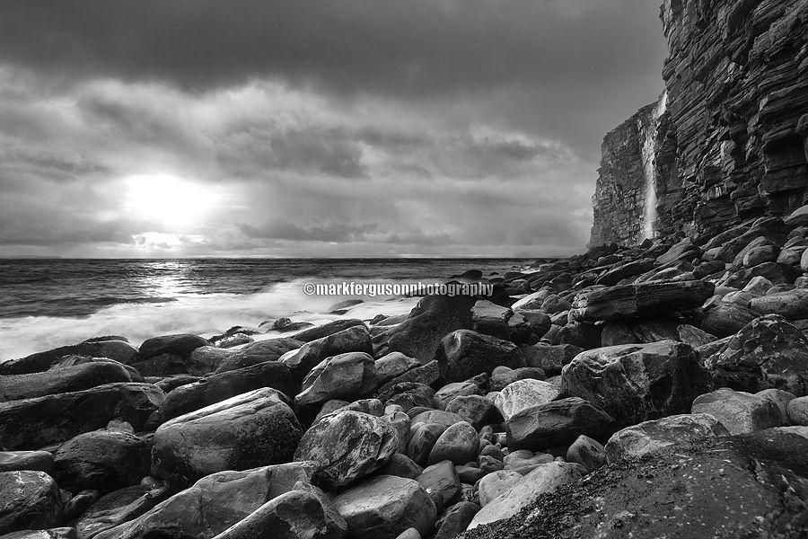Rora Head rocky shore