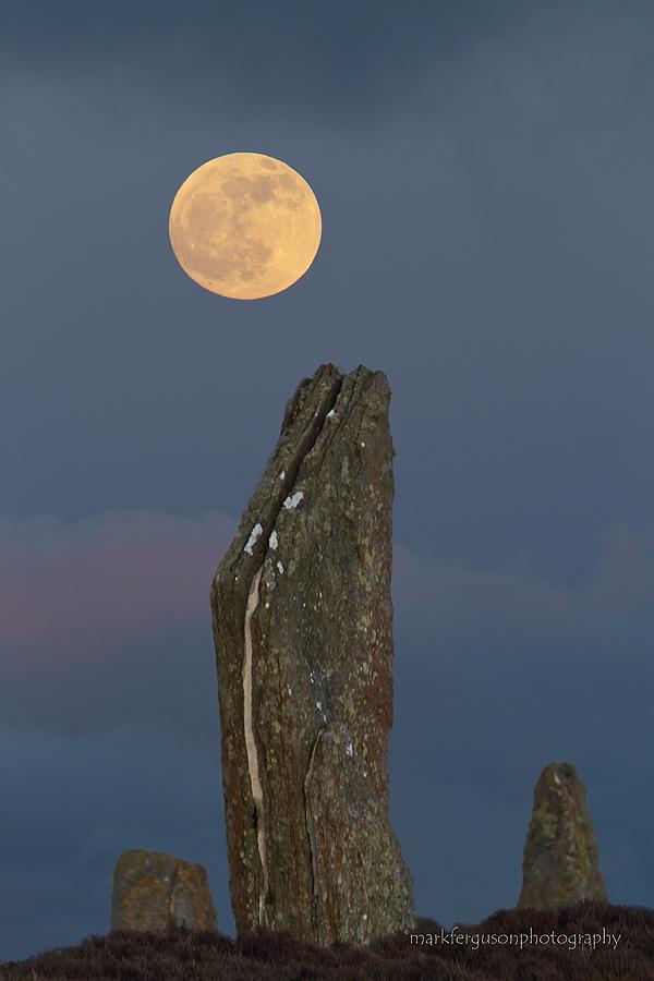 Neolithic moonrise