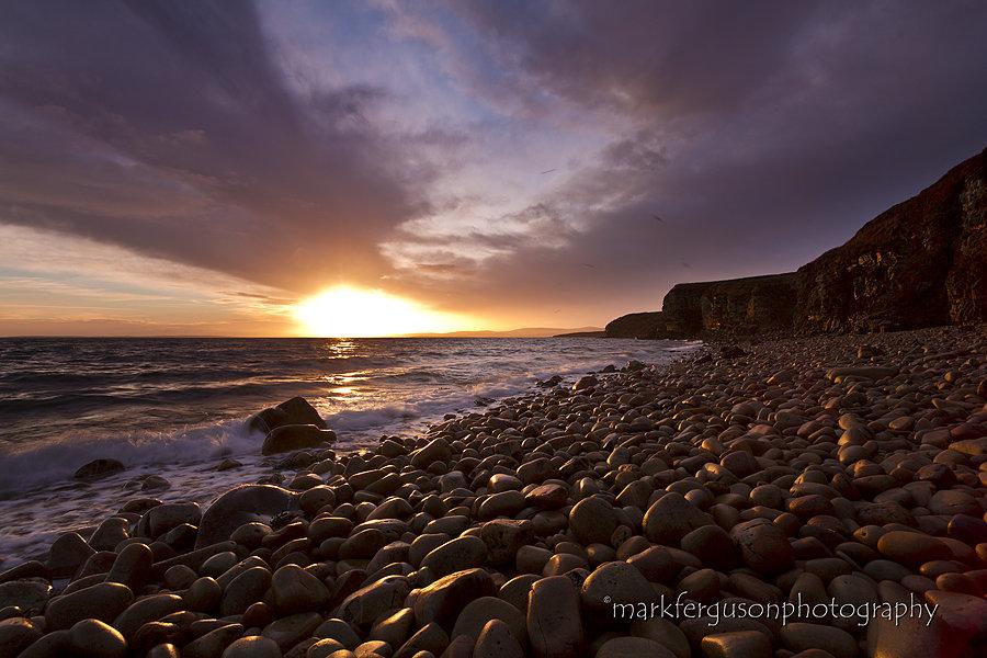 Hobbister rocky beach