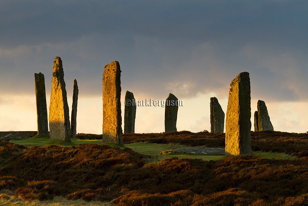 Winter light at the Ring of Brodgar