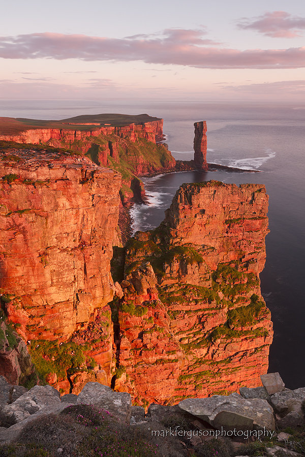 Red cliffs of Hoy