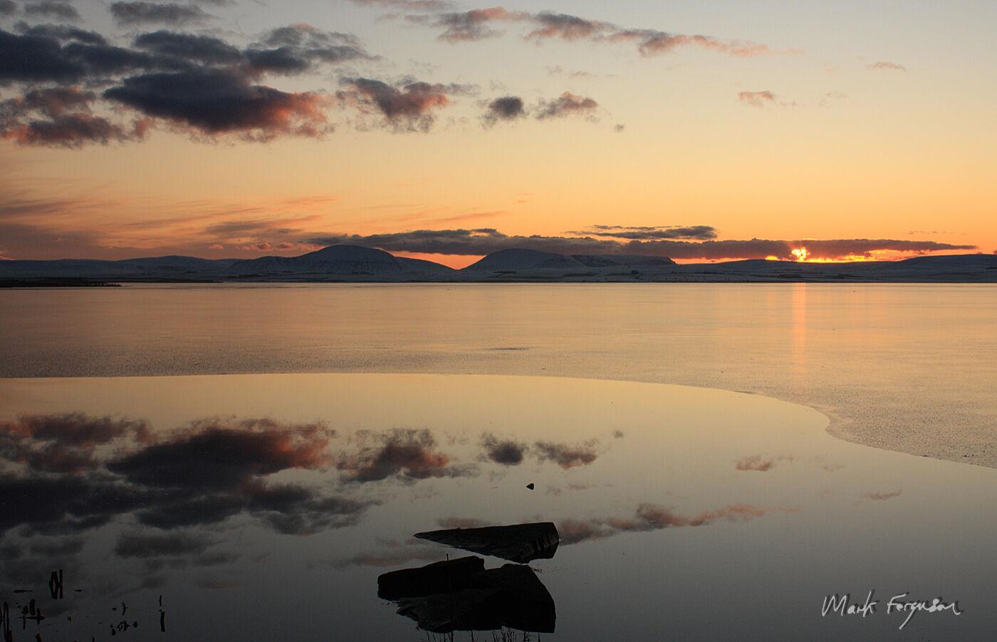 Reflections on Harray Loch