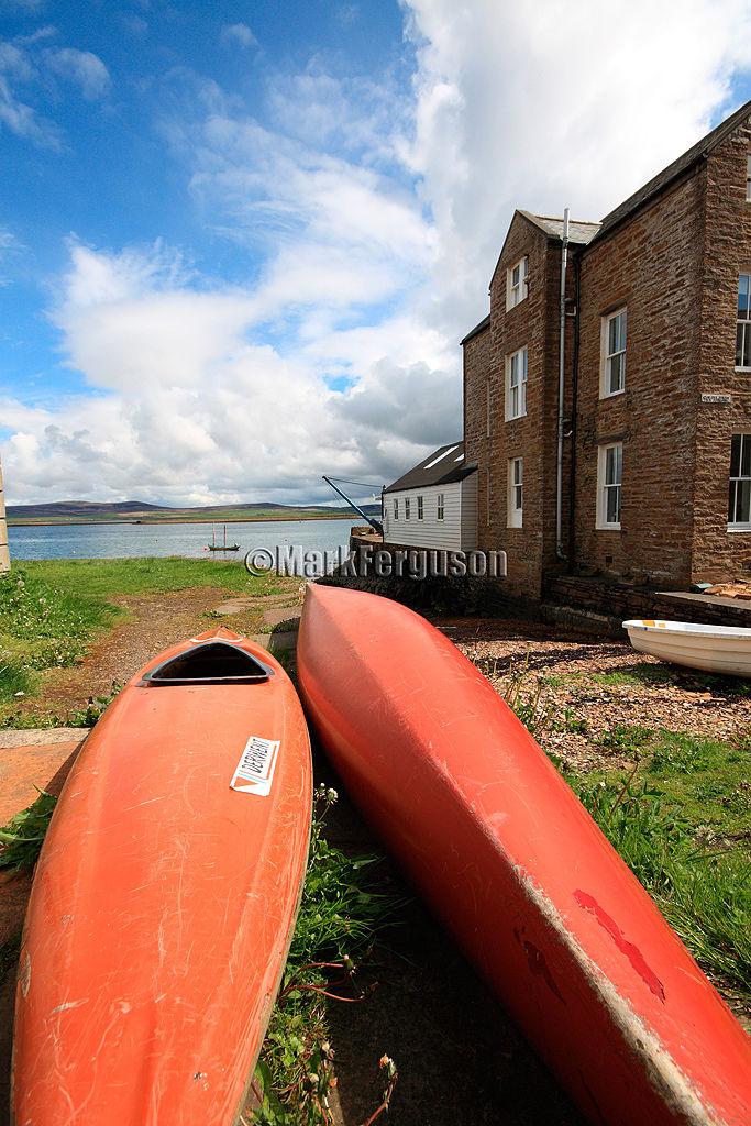 Stromness canoes